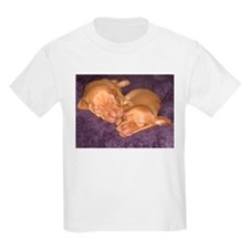 Cute Vizsla Puppies Kids T-Shirt