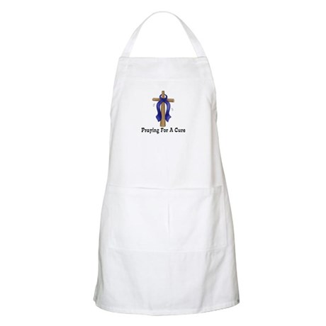 Blue Ribbon Prayer Apron