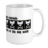 Chinese Cresteds: Punk Rocker Coffee Mug