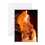 Antelope Slot Canyon Greeting Cards (Pk of 10)