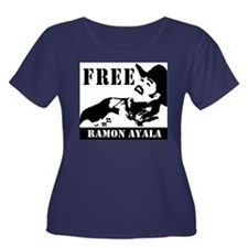 Free Ramon Ayala T-Shirts Women's Plus Size Scoop