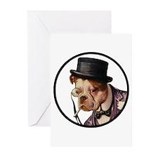 BULLDOGS Greeting Cards (Pk of 10)