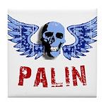Palin Skull Tile Coaster