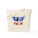 Palin Skull Tote Bag