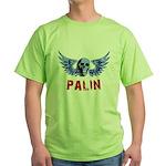 Palin Skull Green T-Shirt