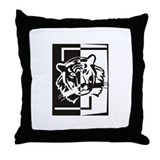 Tiger Four Throw Pillow