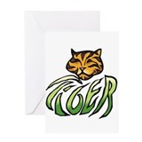 Tiger Two Greeting Card