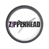 Zipperhead Wall Clock