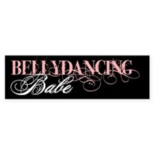 Belly Dancing Bumper Bumper Sticker