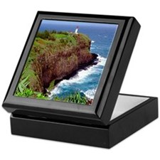 Kilauea Point, Hawaii Keepsake Box