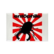 Entophile Rising Sun Rectangle Magnet