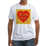 Zion NP Golden Snowflake Hear Fitted T-Shirt