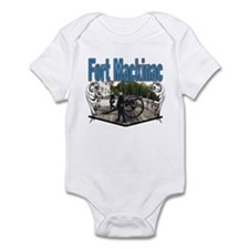 FORT MACKINAC08 Infant Bodysuit