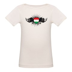 Stylish Hungary Organic Baby T-Shirt