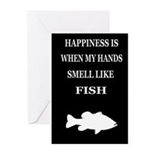 HAPPINESS IS WHEN... Greeting Cards (Pk of 20)