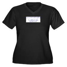 Cute Funny fishing Women's Plus Size V-Neck Dark T-Shirt