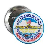 "USS FRANKLIN 2.25"" Button"
