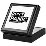 DON'T kernel PANIC Keepsake Box