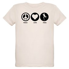 Peace Love Frog T-Shirt