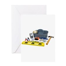Tools Greeting Card