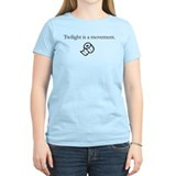 Twilight is a movement. T-Shirt