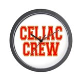Celiac Crew Wall Clock