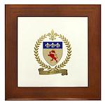 MOREAU Family Crest Framed Tile