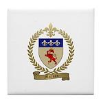 MOREAU Family Crest Tile Coaster