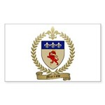 MORROW Family Crest Rectangle Sticker 50 pk)