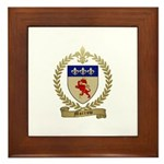 MORROW Family Crest Framed Tile