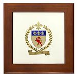 MORROW Family Crest Framed Tile