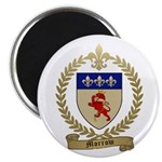 "MORROW Family Crest 2.25"" Magnet (100 pack)"