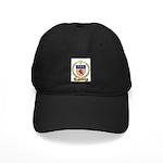 MORROW Family Crest Black Cap