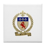 MORROW Family Crest Tile Coaster