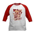 Doll Mascot Kids Baseball Jersey