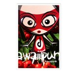 Doll Mascot Photo Postcards (8 Pack)