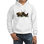 elk Hooded Sweatshirt