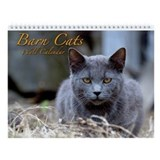 Barn Cats Wall Calendar