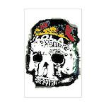 Day of the Dead Skull Mini Poster Print