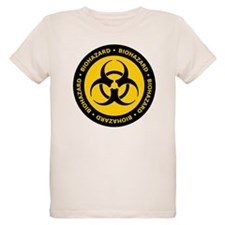 Yellow & Black Biohazard T-Shirt