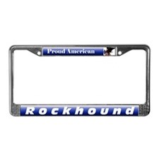 Rockhound license frame