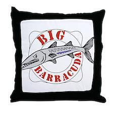 Big Barracuda Throw Pillow
