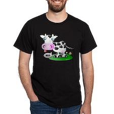 Cute Cow Milk T-Shirt