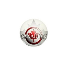 I be Canadian Mini Button (100 pack)