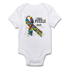 I Wear A Puzzle for my Brother Infant Bodysuit