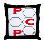 PCP ANGEL DUST Throw Pillow