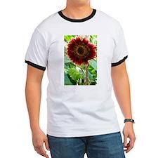 red sunflower T