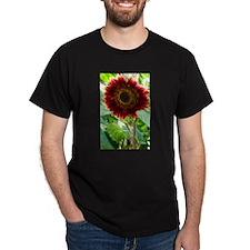 red sunflower T-Shirt
