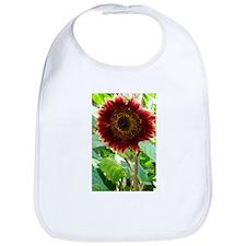 red sunflower Bib