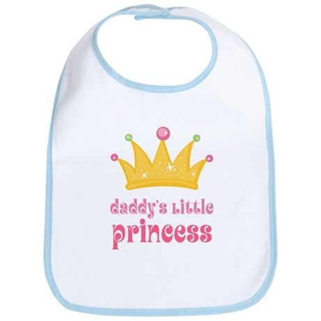 Pink Daddy's Little Princess Bib